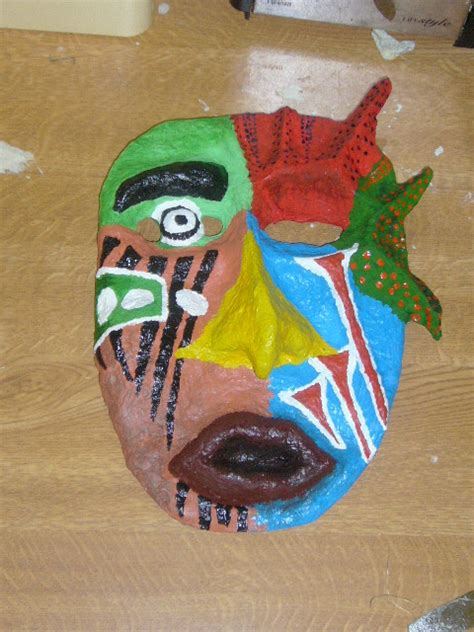 How To Make Paper Mache Masks - how to make papier mache mask everywhere