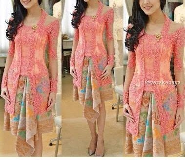 kebaya warna peach 86 best images about kebaya nonya blouse on pinterest