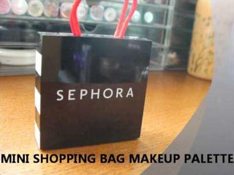 Sephora Mini Bag Palette sephora mini shopping bag palette swatches mini lush