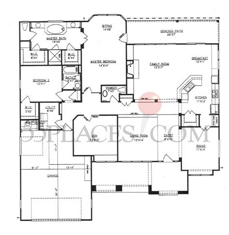 texas floor plans colorado floorplan 2585 sq ft sun city texas