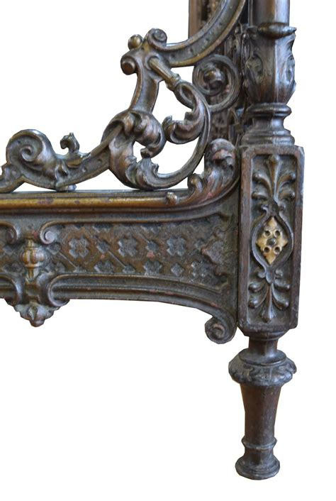 Cast Iron Headboards by Pair Of Cast Iron Italian Beds For Sale At 1stdibs