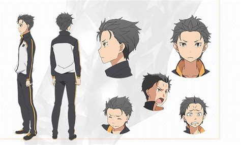 subaru character image natsuki subaru character alternate jpeg re