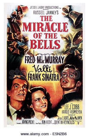 The Miracle Of The Bells Free The Miracle Of The Bells 1948 Frank Sinatra Irving Pichel Dir Stock Photo Royalty Free