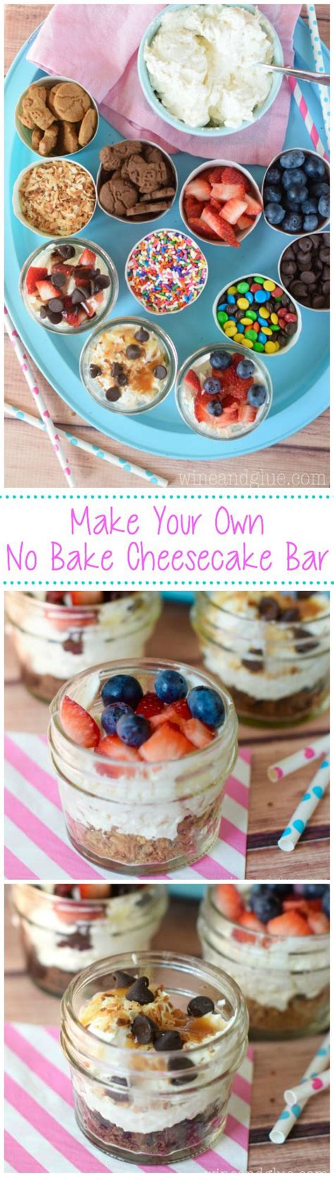 cheesecake toppings bar best 25 party food bars ideas on pinterest food bars
