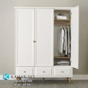 Lemari Pakaian Langdale White Duco Mahoni Untuk Baju jual lemari pakaian scandinavian lemari baju warna putih terbaru kamar set