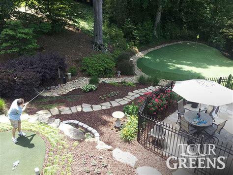 a backyard putting green best 20 backyard putting green ideas on