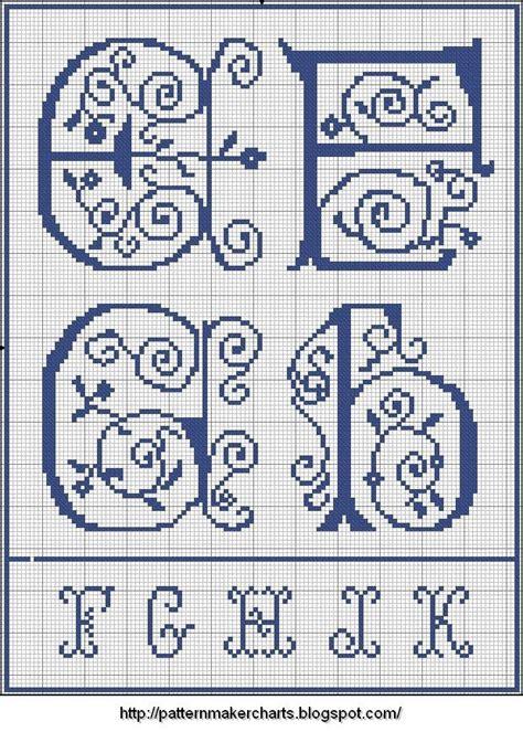 cross stitch writing pattern maker 1000 images about cross stitch patterns alphabets on