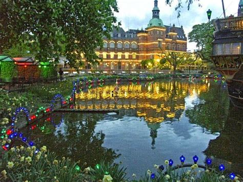 Tivoli Gardens Denmark by 50 Most Popular Tourist Attractions In The World Travel