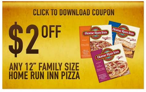printable coupons and deals 2 any one 12 home run