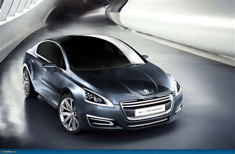 peugeot motor cars ausmotive com 187 the 5 by peugeot concept car 508 preview