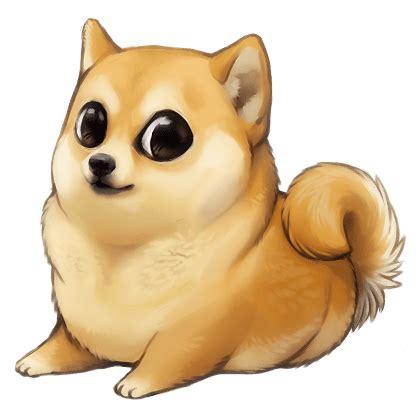 Doge Girl Meme - doge chibi shibi transparent png stickpng