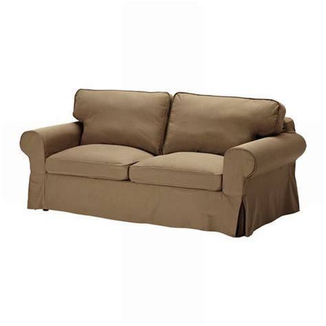 Ikea Ektorp Sofa Bed Slipcover Cover Idemo Light Brown Ikea Sofa Covers