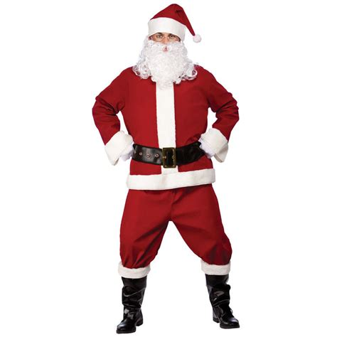 professional santa suit christmas fancy dress up festive