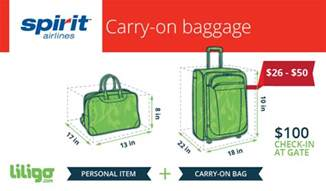 United Airlines Baggage Weight the low down on spirit airline s baggage policies liligo com