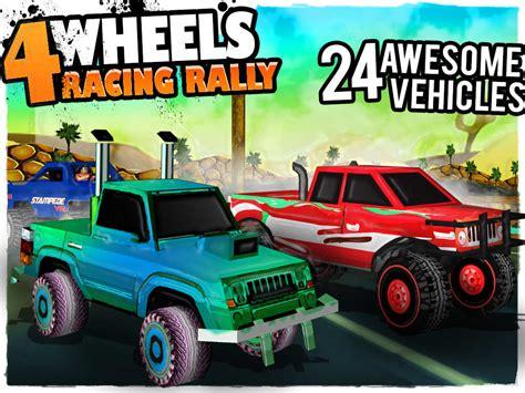 monster trucks racing games 4 wheels racing rally 3d monster truck race game