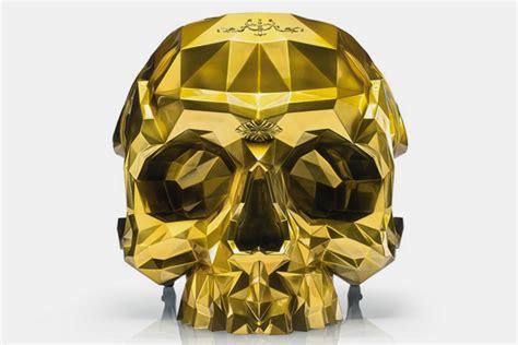 gold skull chair