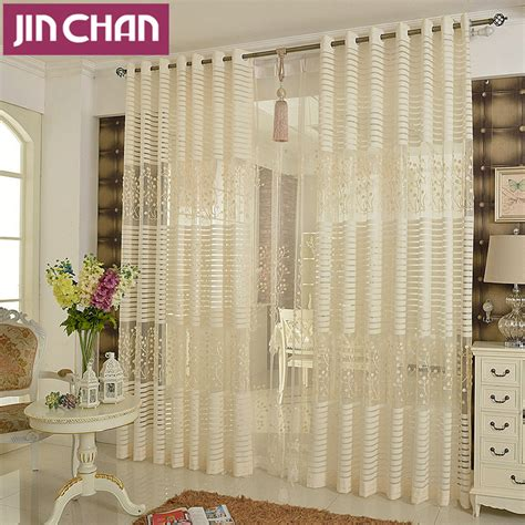 Sheer Kitchen Window Curtains Plants Emboridered Modern Window Tulle Curtains For Living Room Sheer Kitchen Curtains Window