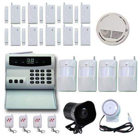 pisector wireless home security alarm system kit with auto