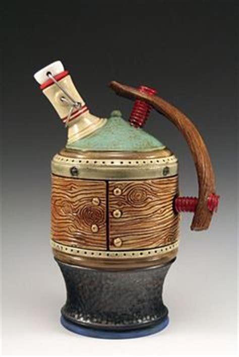 Handmade Growler - deschutes brewery ceramic growler made in oregon 60