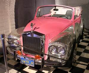Liberace Rolls Royce Liberace S Pink And Silver Customized Volkswagen Pimped