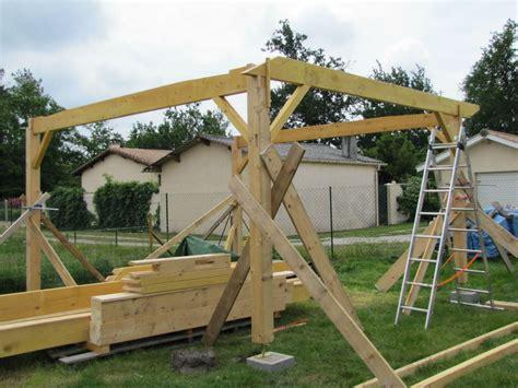 garage construction bois garage charpente tradi artisan charpente menuiserie