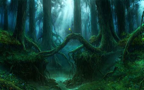 imagenes bonitas bosque de fantasias fondos de pantalla g 243 tico fantasy bosques 225 rboles fantas 237 a