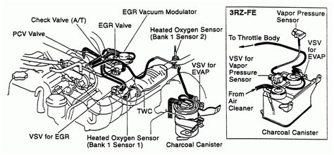 2002 Toyota Tacoma Engine Diagram 2002 Toyota Tacoma Engine Diagram Wiring Diagrams