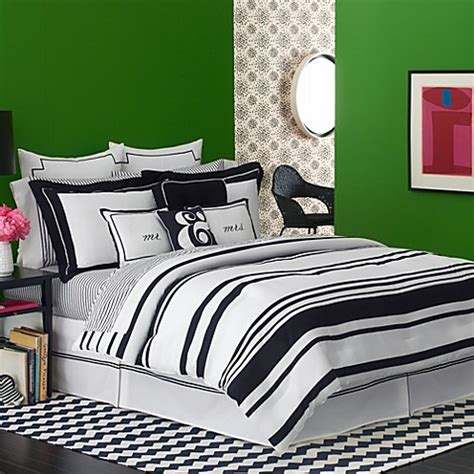 kate spade coverlet kate spade new york fairmont stripe comforter bed bath