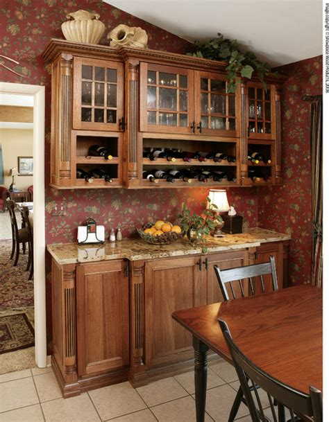 Traditional Dining Room Cabinets Showplace Cabinets Dining Room Traditional Dining