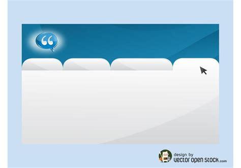 open business card website template website business card template free vector