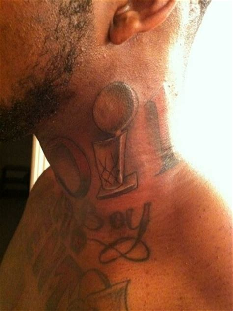 jason terry tattoo dominique jones has a of the larry o brien trophy