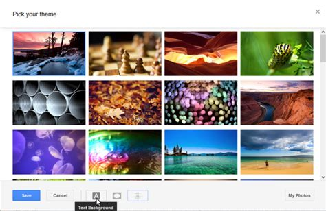themes photo editor gmail gets hundreds of themes and new emoji kills off old