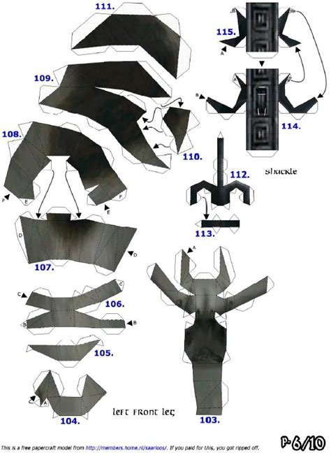 Papercraft Wolf - 110 best all the way images on