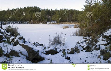 winter pit pit in winter stock photo image 48234630