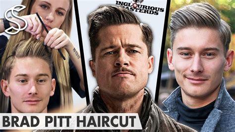 brad pitt inglorious bastard haircut brad pitt hairstyle inglourious basterds lt aldo raine