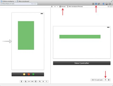 xcode bottom layout guide beginning auto layout tutorial in ios 7 part 2