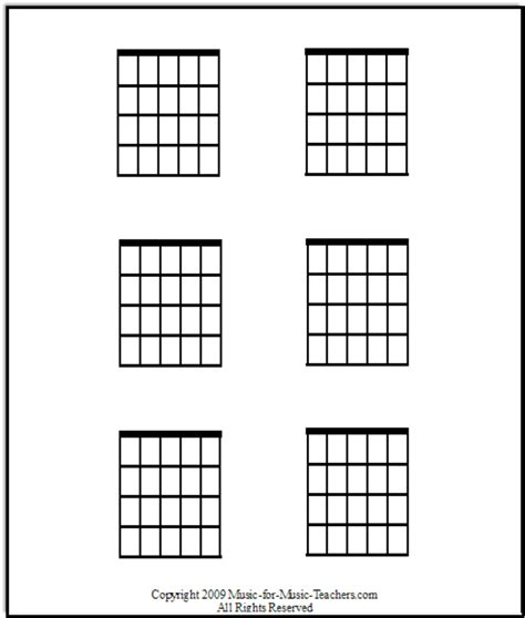 download blank guitar chord chart template for free formxls