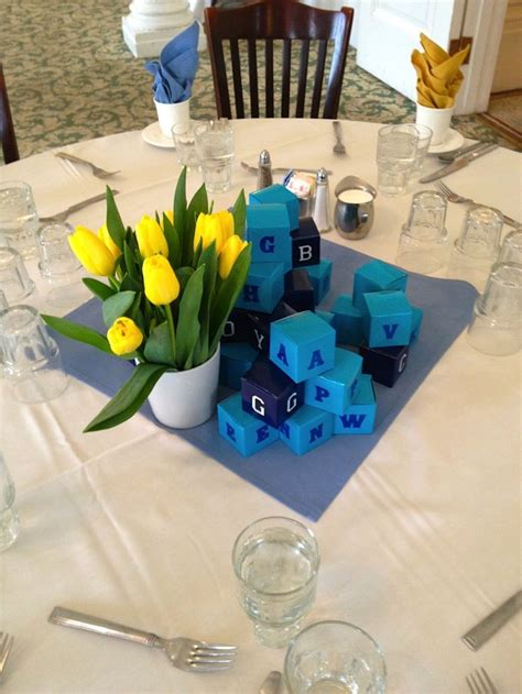 baby shower table centerpieces 53 best images about baby shower ideas on baby shower centerpieces boy centerpieces