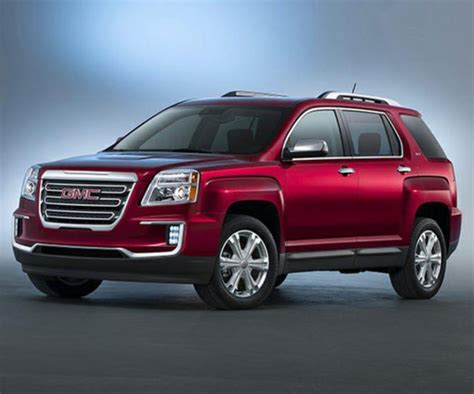 2017 gmc terrain release date redesign and pictures