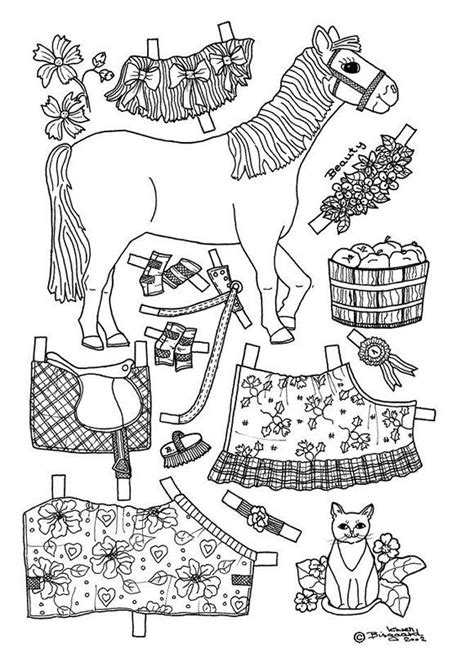 Paper Doll Clothes Coloring Pages by Pony Paper Doll Coloring Page Coloring Pages