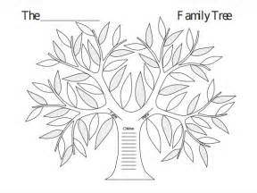 problem tree template word blank family tree template 31 free word pdf documents