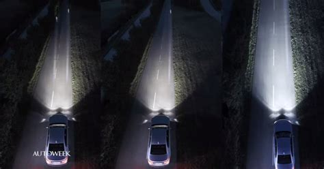 xenon lights vs led laser headlights bmw i8 will be the production car