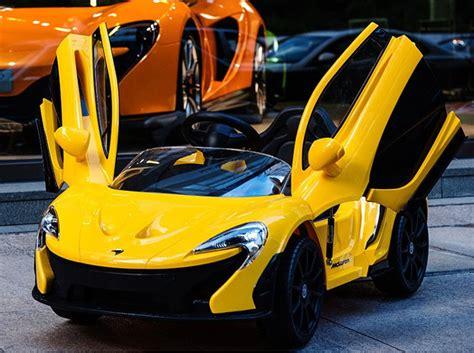 toddler battery car buy 6v mclaren electric ride on car 669r at best
