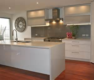 splashback ideas white kitchen glass splashbacks in melbourne the splashback company