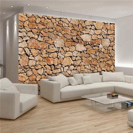 pared de piedra interior papel de encolar para pared muro de piedras 368 x 254 cm