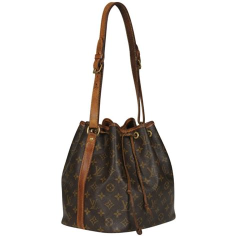 louis vuitton vintage lv monogram epi bucket bag brown
