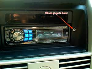add a dashboard for your car stereo s rear aux input