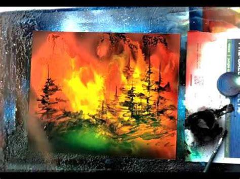 spray paint landscape by trasher spray paint forest spray wave landscapes