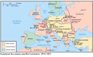 World War 1 Maps by Pics Photos World War 1 Map Of Europe During The War