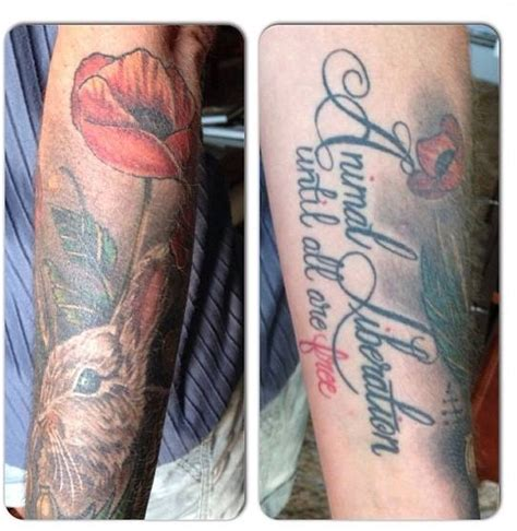 tattoo animal liberation front animal liberation tats pinterest vegan tattoo